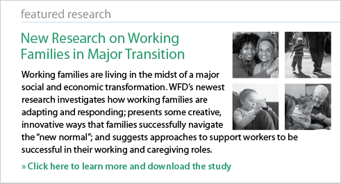 New Research on Working Families